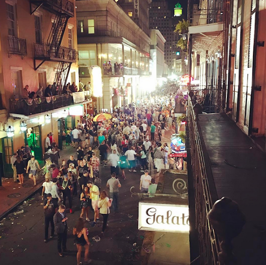 New Orleans for Mardi Gras 2017 - Dadcation