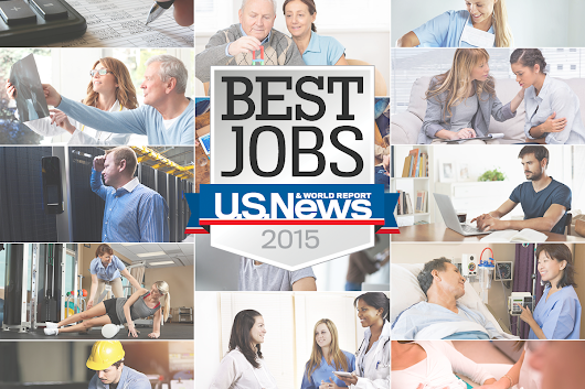 The 25 Best Jobs of 2015