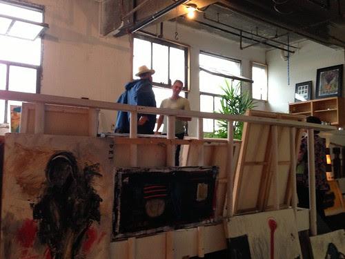 An amazing studio, JC Artists' Studio Tour