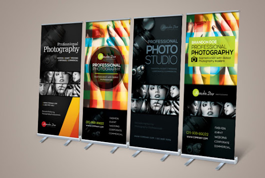 20 Creative Vertical Banner Design Ideas – Design Swan