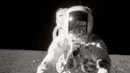 Alan Bean, Apollo 12 Astronaut Who Walked On The Moon, Dies At 86 : The Two-Way : NPR