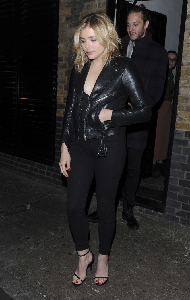 Chloe Moretz: Leaves the Chiltern Firehouse -09