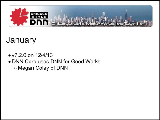 Chicago DNN Year in Review