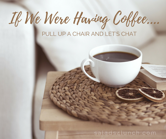 If We Were Having Coffee… December 2016 Edition