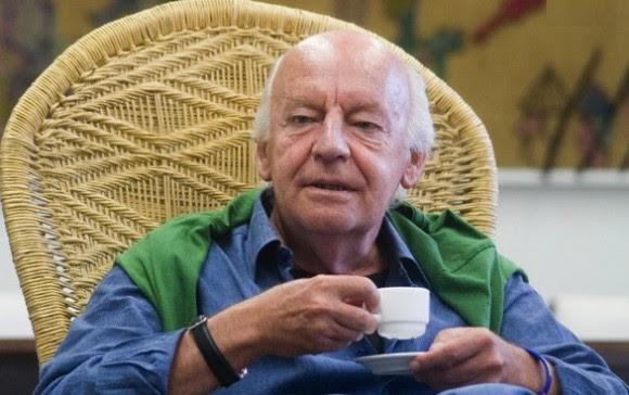 Eduardo Galeano en Casa de las Américas. Foto: Abel Carmenate