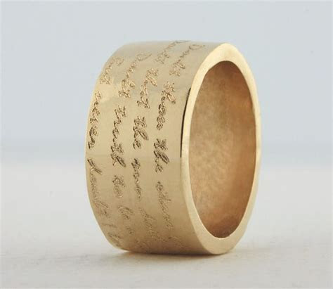 25  Best Ideas about Wide Band Rings on Pinterest