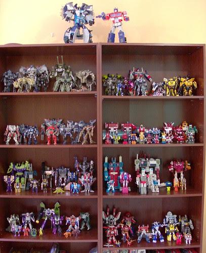 Mi colección de Transformers (02/Feb/2008)