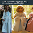 Win Hanukkah gift giving with a doll version of a special sewing project