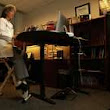 Desks that allow standing and moving improve health
