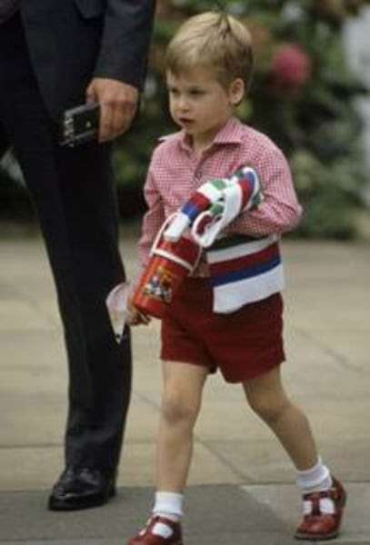 Prince William going to nursery school