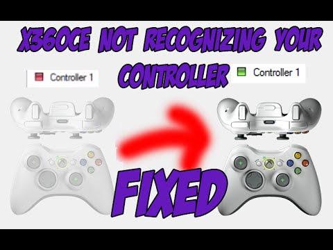 X360Ce D-Pad Error