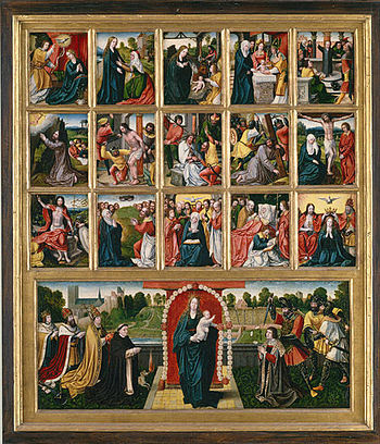 The Fifteen Mysteries of the Rosary and the Vi...