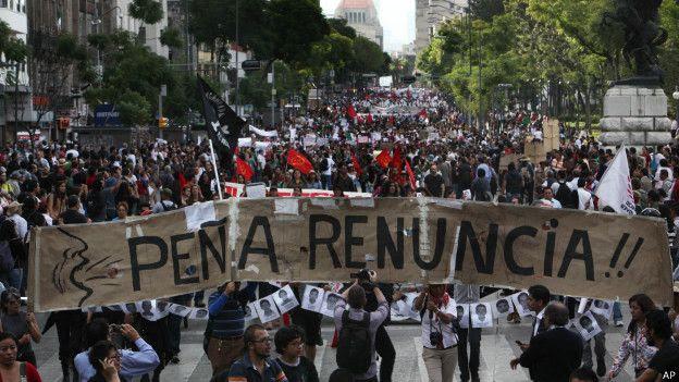 Resultado de imagen para protestas en mexico
