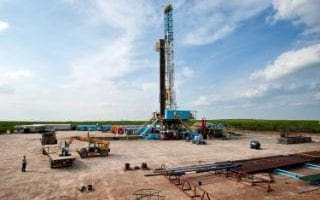 Orion Drilling Co's Perseus rig in Webb County, Texas