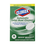 Clorox Automatic Toilet Bowl Cleaner, 6 Pack, 3.5 oz.