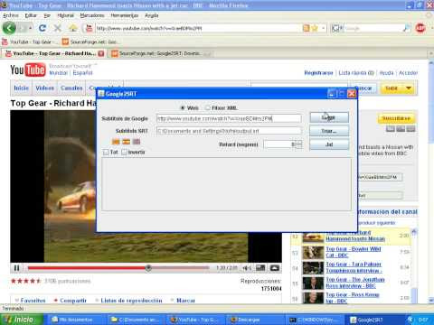 Scaricare sottotitoli dai video YouTube con Google2SRT