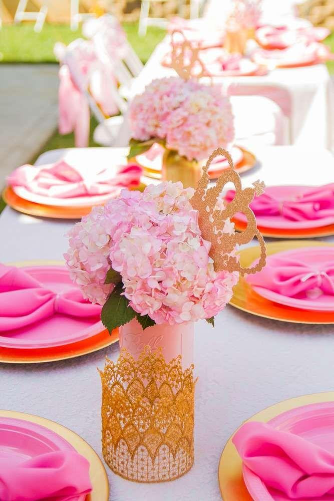 Bridal Shower Pink And Gold Birthday Party Ideas 2178118 Weddbook