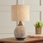 Emma Brown Ceramic Mid-Century Table Lamp - Style # 56H51