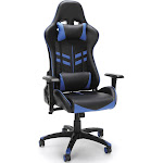 OFM Essentials by Racing Style Gaming Chair, Black/Blue