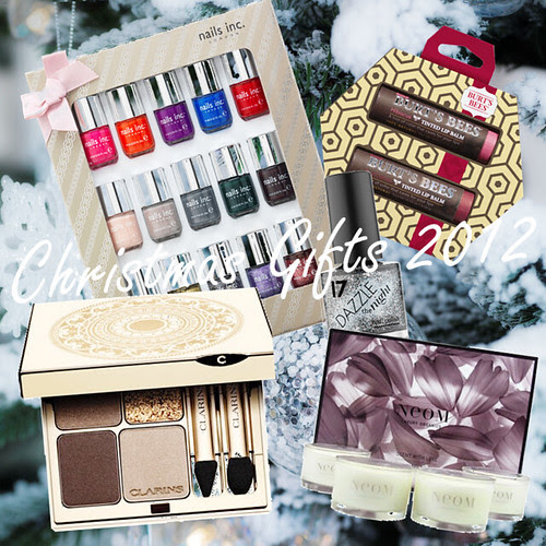 Christmas Beauty Gifts 2012