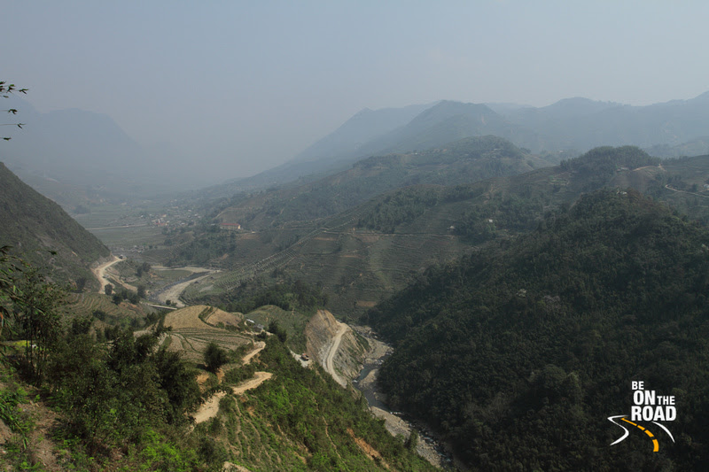 Scenic hike over the mountainous trails of Sapa, Vietnam