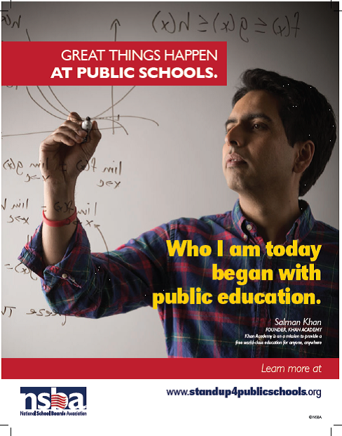 Look who's advocating for public schools
