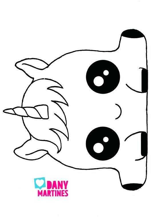 Kawaii Para Colorear Para Yahoo Search Unicornio Dibujo Kawaii Para