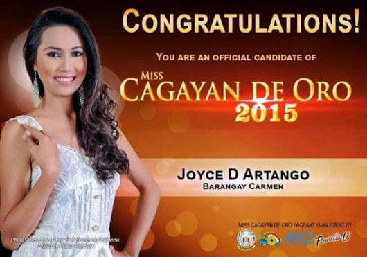 Official Candidates of Miss Cagayan de Oro 2015 - CDO Encyclopedia