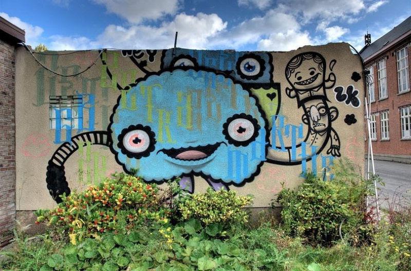 A vila condenada de Doel e sua arte de rua surpreendente 16
