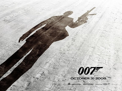 22nd James Bond movie poster - Quantum of Solace
