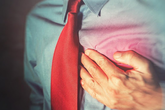 Scientists have just discovered a symptom which means a heart attack could be imminent