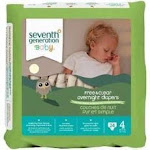 Seventh Generation Baby Overnight Diapers Stage 4, Seventh GenerationDiapers, Bath and Body