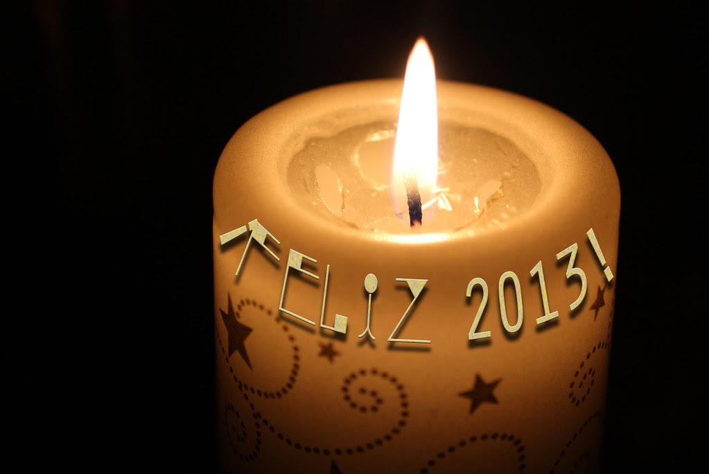 ¡Feliz 2013! ¡Feliz Año Nuevo!