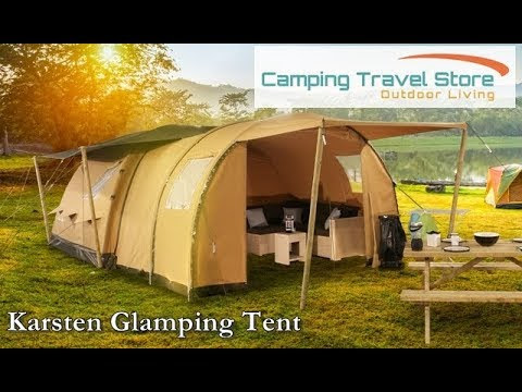 Karsten launch their new Glamping Tent