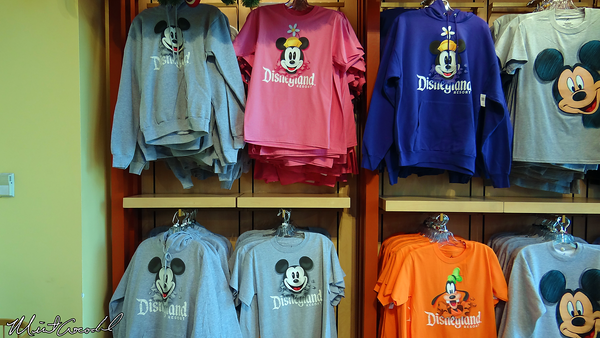 Disneyland Resort, World of Disney, Old Style, Mickey Mouse, Minnie Mouse, Shirt, Merchandise