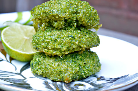 Spinach & Quinoa Bites — Tasty Food for Busy Mums