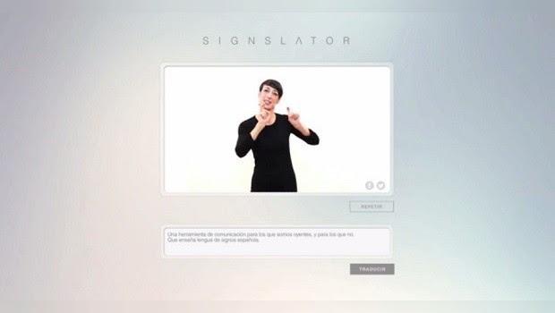Signslator: un traductor del español al lenguaje de los signos