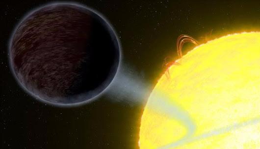 This pitch-black 'hot Jupiter' orbits an alien star and is darker than asphalt — Mashable