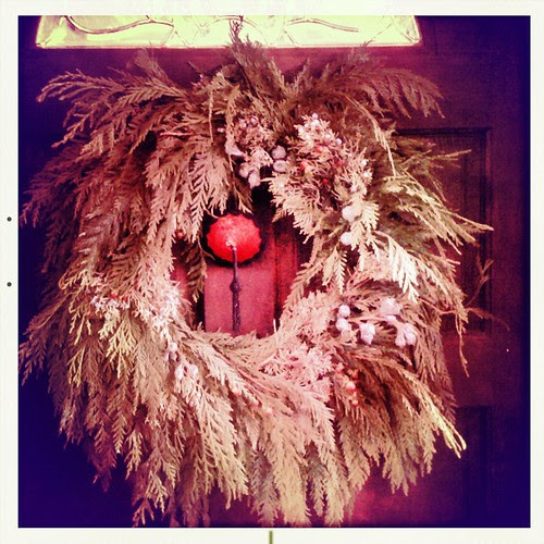 pastie wreath