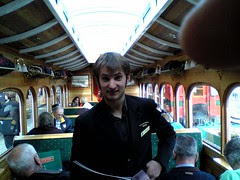 """Thomas the """"Fat"""" Conductor on the ABT railway"""