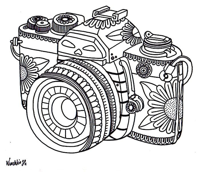 Vintage Camera Drawing Tumblr At Getdrawings Com Free For Personal