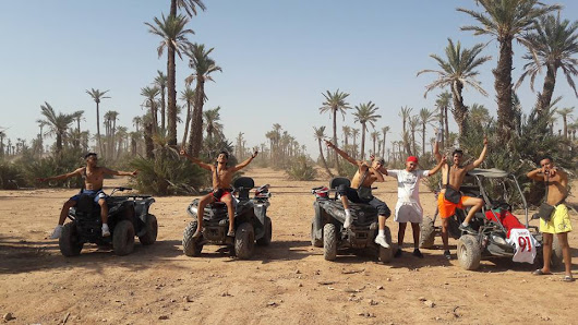 Balade Quad demi Journee Palmeraie Marrakech - Quad Marrakech