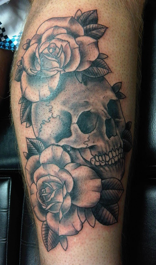 The 25 Best Ideas About Skull Rose Tattoos On Pinterest Skulls And Roses Skull Tattoos And Get Free Tattoo Design Ideas