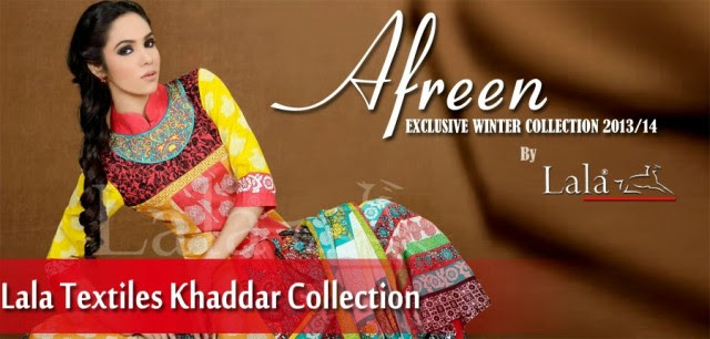 Beautiful-Girls-Ladies-Wear-New-Fashion-Khaddar-Clothes-by-Lala-Textiles-And-Afreen-