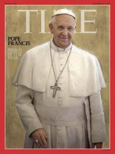 PAPA FRANCESCO PERSONA DELL ANNO PER TIME