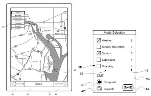 Apple Obtains New Patent  –  More Intelligent Interactive Map  | MyJad Official Blog