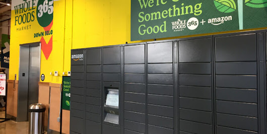 Are Amazon lockers turning Whole Foods into a quick shop destination? – RetailWire