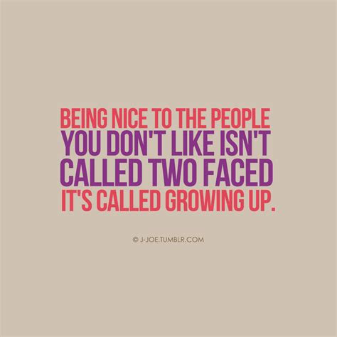 Quotes About Being Two Faced Friend