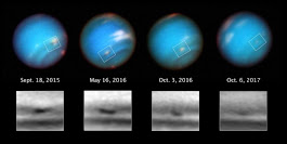 Neptune's Huge Storm Is Shrinking Away In New Images From Hubble - Universe Today
