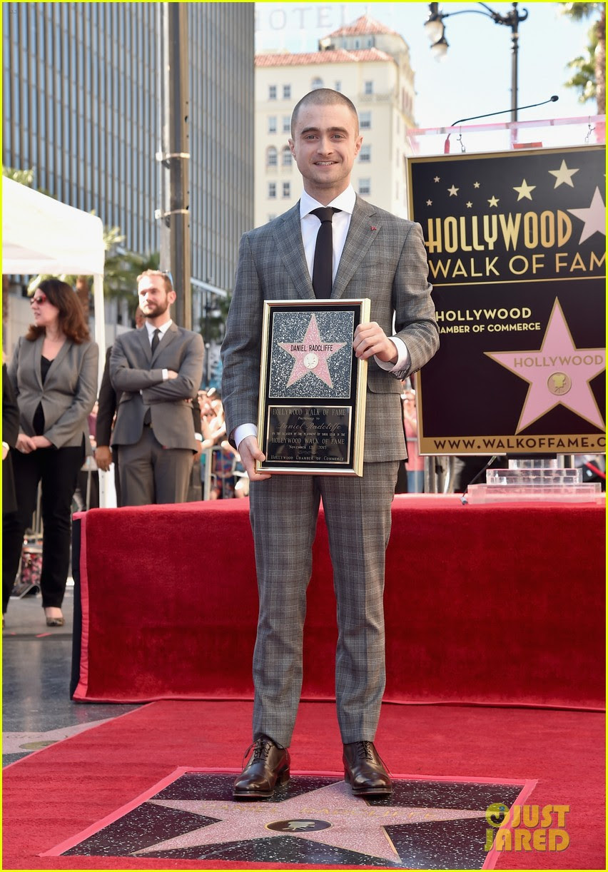 Daniel Radcliffe Honored With Star On Hollywoods Walk Of